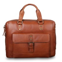 Cумка Ashwood Leather  1334 Tan коричневый