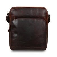 Cумка Ashwood Leather  F-82 Brown Коричневый