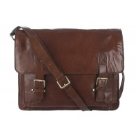 Сумка Ashwood Leather Josh Chestnut Brown Коричневый