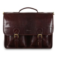 Портфель Ashwood Leather 8190 Cognac Коричневый