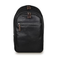 Рюкзак Ashwood Leather 4555 Black Черный