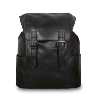 Рюкзак Ashwood Leather Harvey Black Черный