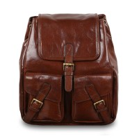 Рюкзак Ashwood Leather Rucksack Chestnut Brown Коричневый