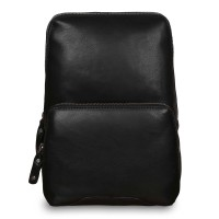 Рюкзак Ashwood Leather Slingo Black Черный