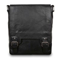 Cумка Ashwood Leather 8342 Black Черный