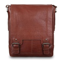 Cумка Ashwood Leather 8342 Tan коричневый