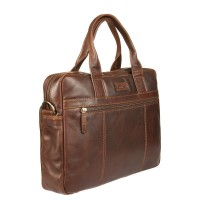 Бизнес-сумка  Gianni Conti 1221266 dark brown