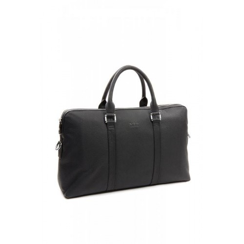 Mужской портфель Vip Collection 3008_6_BLACK_NAPPA